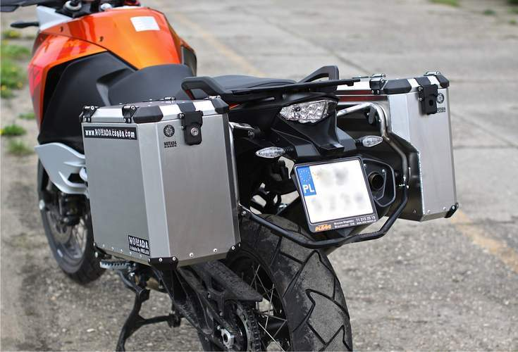 holan nomada pro panniers and more for the ktm 1190 adventure